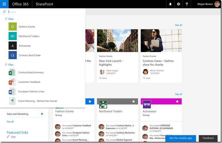 SharePoint-Virtual-Summit - Suchfunktion