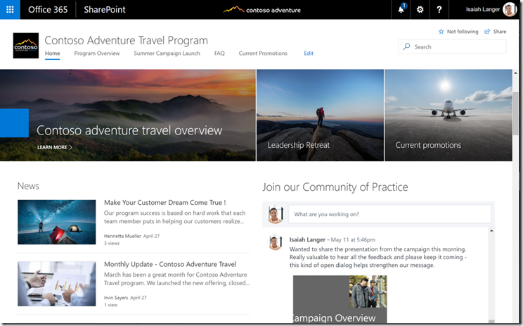 SharePoint-Virtual-Summit - Yammer Webpart