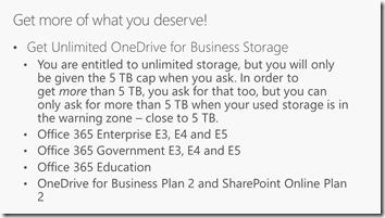 Ignite-Tipp OneDrive - unbegrenzter Speicher