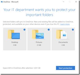 OneDrive Known Folder Migration per Gruppenrichtlinie