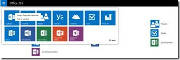 Office 365 App Launcherjpg