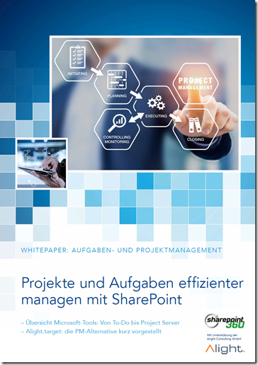 Whitepaper Projektmanagement mit SharePoint