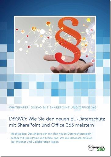 Whitepaper zum neuen EU-Datenschutzrecht DSGVO
