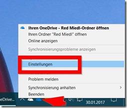 Die richtige Version des OneDrive-Clients