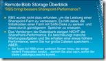 """Remote Blob Storage Überblick """"RBS bringt bessere Sharepoint-Performance"""""""