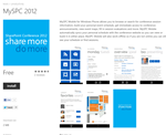 Sharepoint Conference  Windows Phone App