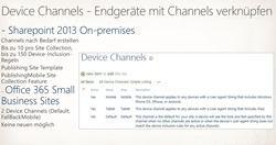 Device Channel - Endgeräte mit Channels verknüpfen