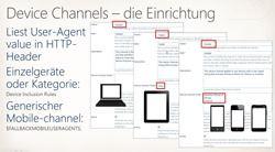 Device Channel - die Konfiguration