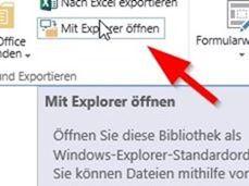 Sharepoint 2013 - Mit Explorer öffnen