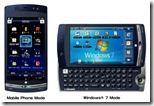 Smartphone-Zwitter mit Windows 7: Fujitsus F-07C