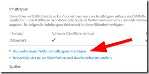 Anleitung So aktiviert man Links in SharePoint Dokumentenbibliotheken (2)