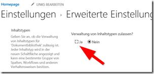 Anleitung So aktiviert man Links in SharePoint Dokumentenbibliotheken (3)
