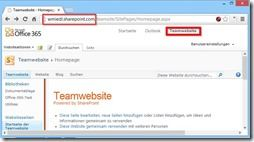 Sharepoint im alten Office 365 (Generation 2010)