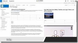 Wissens- und Informationsmanagement mit SharePoint - Wikis
