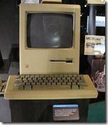 Der erste Mac von 1984 im Microsoft-Museum