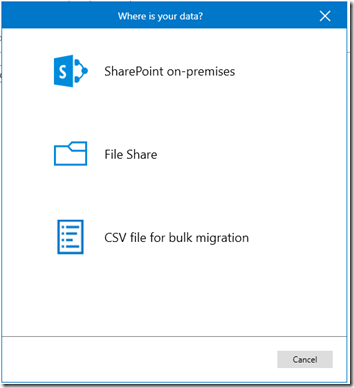 SharePoint Migration Tool - Quellen