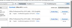 Office 2013 zum Downloads bereit