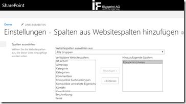 Tipp Darstellung und Funktion von Websitespalte in SharePoint mit JavaScript anpassen (1)