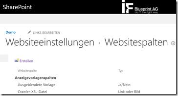 Tipp Darstellung und Funktion von Websitespalte in SharePoint mit JavaScript anpassen (3)