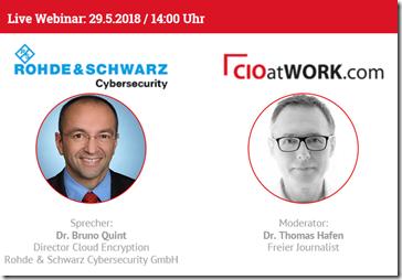 Webinar Rohde & Schwarz Cybersecurity