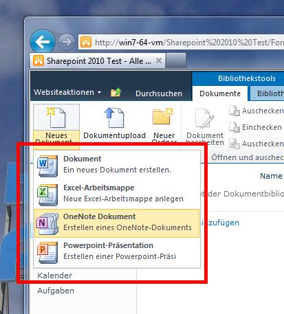 Office-Vorlagen als Sharepoint-Templates verwalten