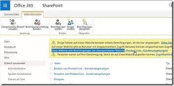 Einstieg in SharePoint Berechtigungen - Websitesammlungsadministrator festlegen__